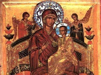 икона Богородицы Всецарица
