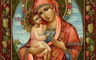 Чтение молитвы Жировицкой иконе Божьей Матери
