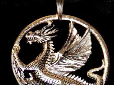 Амулет дракона в круге