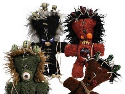Самодельные куклы вуду