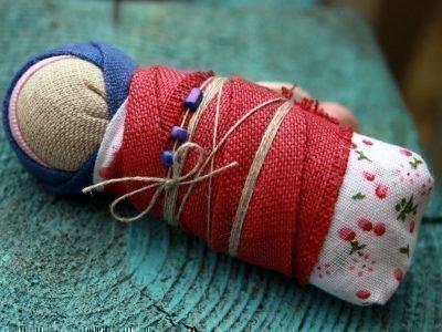 Оберег кукла Пеленашка