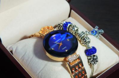 Комплект часы и брастлет