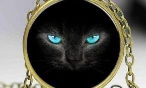 Кому подходит талисман с черными кошками