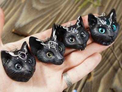 черные кошки талисман