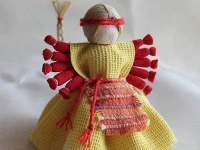 десятиручка кукла