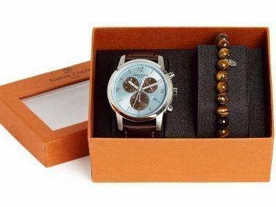 Мужские часы и четки