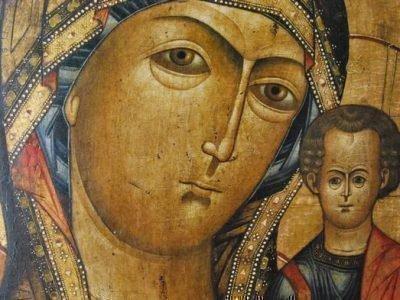 Падение иконы Божьей матери