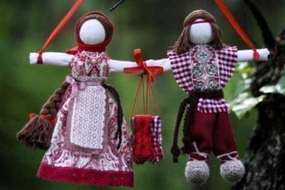 Куклы неразлучники без лиц
