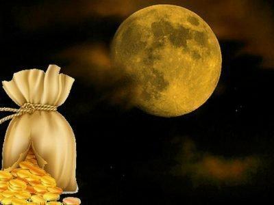 Денежная магия Луны
