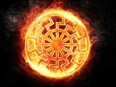 Символ оберега Солнцеворот