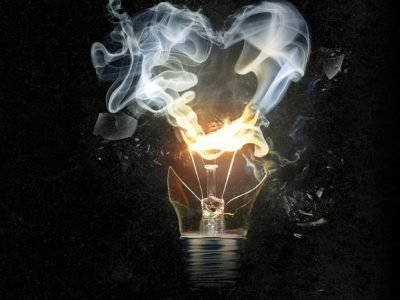Взрыв лампочки