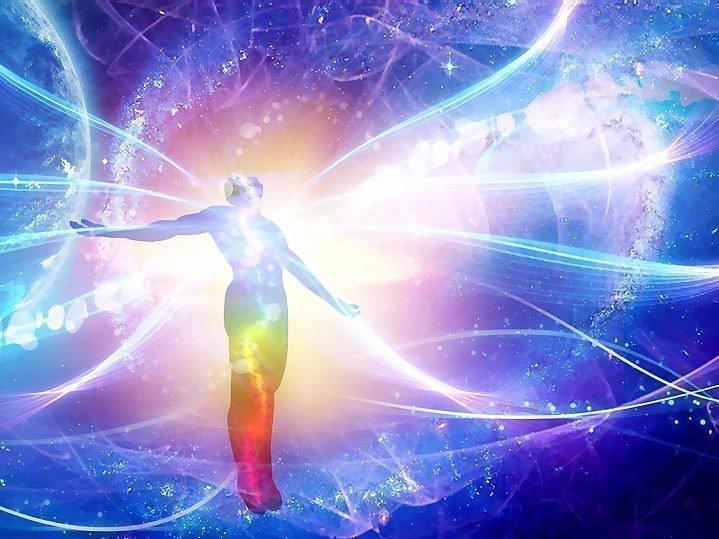 Синяя аура значение небесных оттенков на тонком теле человека