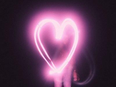 аура розовая