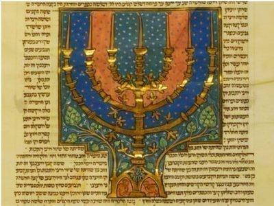 Описание меноры в Ветхом Завете