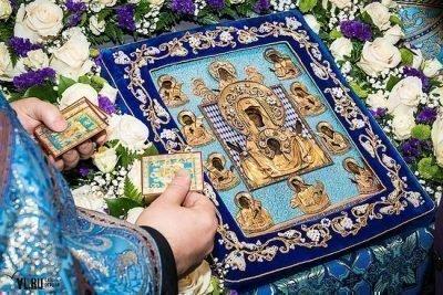 """Молитва у иконы Куская коренная икона Божьей матери """"Знамение"""""""