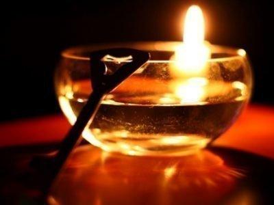 Приворот на воду и свечу