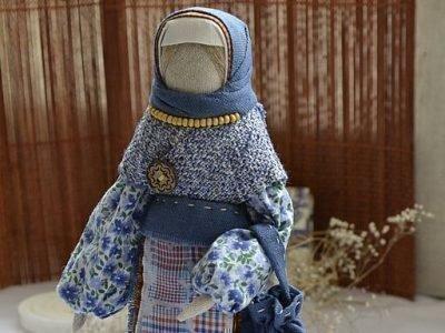 Кукла Успешница с пуговицей