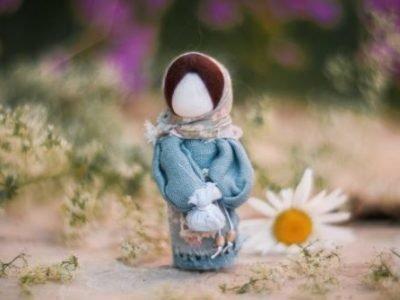 Прощание с куклой-мотанкой