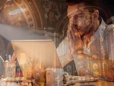 Чтение молитвы перед делом