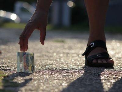 нашли деньги