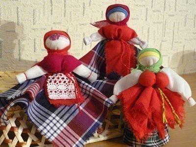 Вепсские куклы-обереги