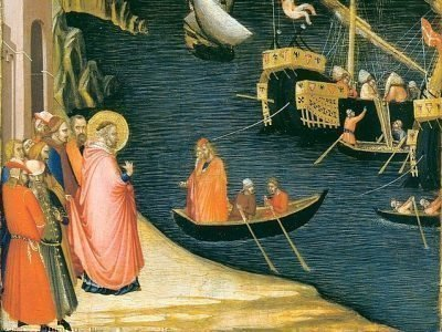 Амброджо Лоренцетти. Сцены из жизни Святого Николая