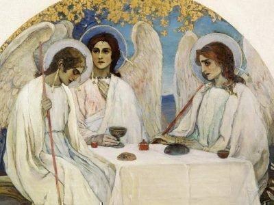 Оберег Три Ангела - картина
