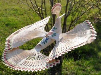Самодельный оберег Птица счастья