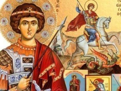 Икона Георгия-Победоносца
