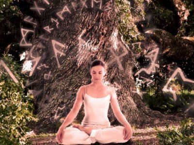 Образ рун при медитации