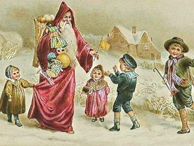 Святой Николай - покровитель детей