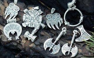Самые известные и сильные славянские серебряные обереги