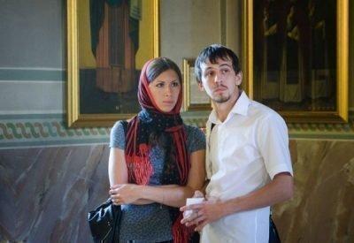 Посещение церкви с мужем