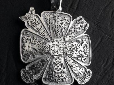 крест оберег славянский