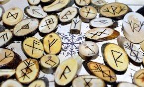 Соответствие рунического алфавита русским и латинским буквам
