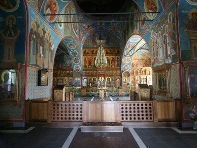 Казанский храм в Оптиной Пустыни