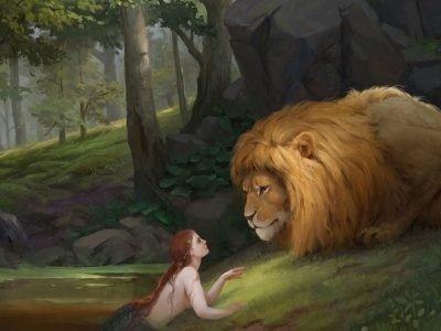 Женщина-Рыбы и Мужчина-Лев