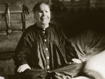 Прижизненное фото св. Матроны