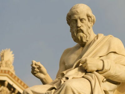 Платон, скульптура