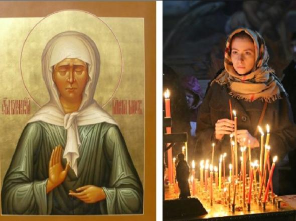 Молитва святой матроне об исполнении желания