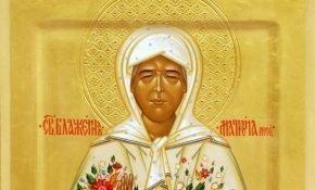 Чтение молитвы Матроне Московской о помощи в работе и деньгах