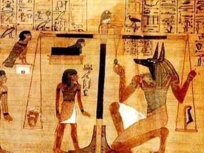Взвешивание души в Древнем Египте