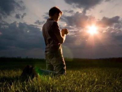 Чтение молитвы Отче наш
