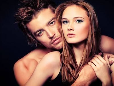 Мужчина-Скорпион и женщина-Овен