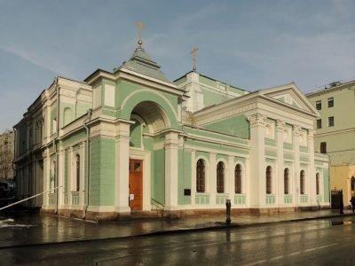 Церковь Троицы Живоначальной в городе Грязи