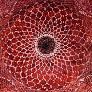 потолок Тадж-Махала