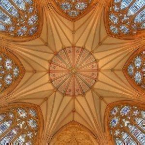 свод собора Св. Петра в Йорке