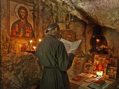 Чтение молитвы задержания старца Пансофия