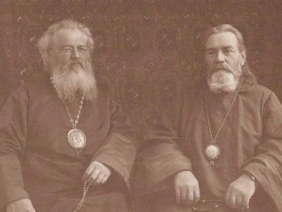 Святитель Лука со священником