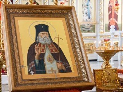 Икона св. Луки Крымского